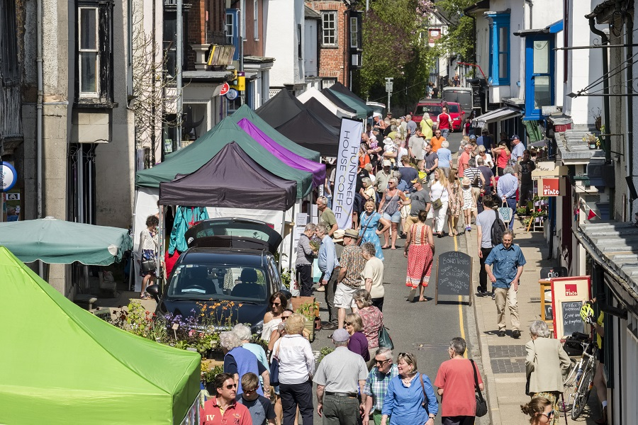 Presteigne Food & Flowers Festival 2018